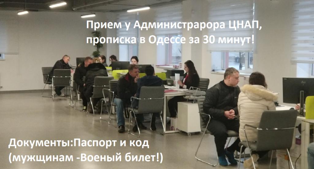 прописка в Одессе 2019-админ1