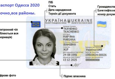 ID паспорт Одесса без очереди!